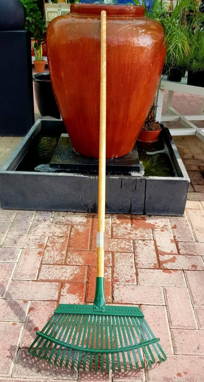 Steel Garden rake ,Steel Garden rake with wooden handle
