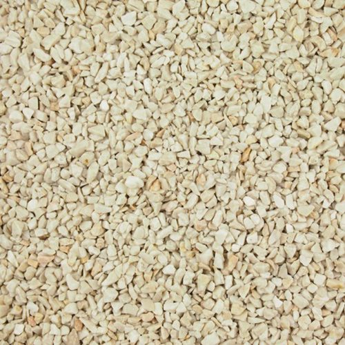 Beige gravel or aggregate
