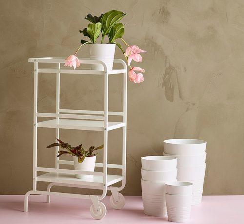 """Porcelain Pot """"White"""" 26x27cm"""