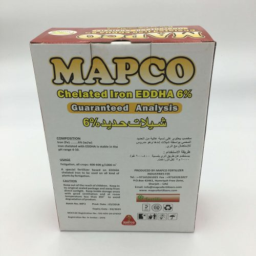 Mapco Chelated Iron Eddha 6%