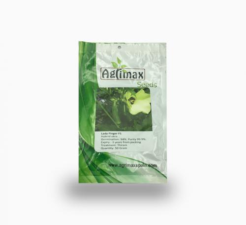 Lady Finger Okra F1 Premium Quality Seeds