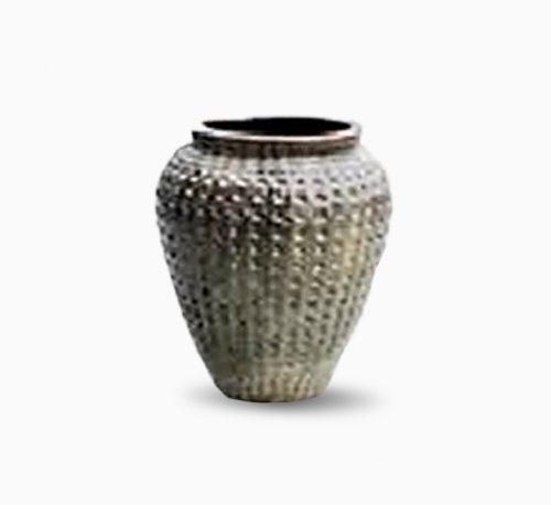 Glossy Black Diamond Jar 65CMH
