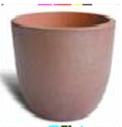 Black Clay Egg Pot