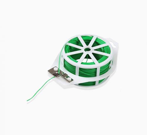 "Plant Twist Tie with Cutter ""Green Wire"""