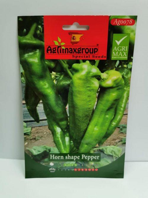 horn shape pepper