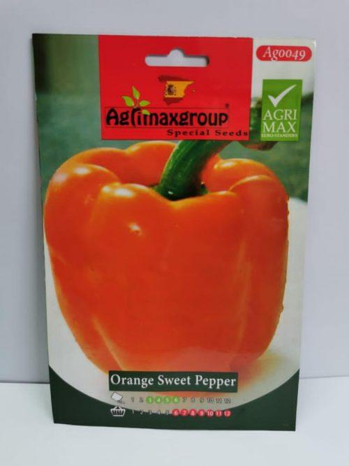 orange sweet pepper