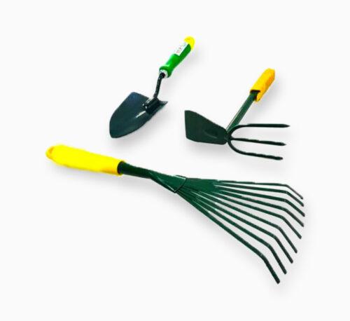 3 Piece Set Gardening Hand Tools
