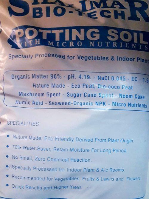 Bio tech potting soil with Micro Nutrients