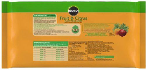 Miracle-Gro Fruit & Citrus Fertilizer Spikes