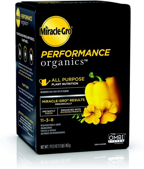 Miracle-Gro Performance Organics All Purpose Plant Nutrition