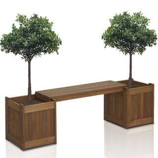 Handmade Dwa Planter Bench