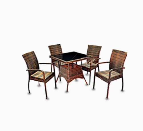 AE Outdoor 5 Pcs Dining Set