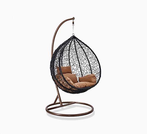 Rattan Bird's Nest Rattan Chair Hanging Basket Leisure Swing