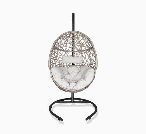 YuLan Nordic Hanging Basket Chair(Grey)